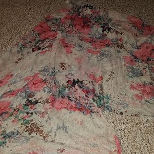 🔥5 for 30🔥Sheer floral scarf large.